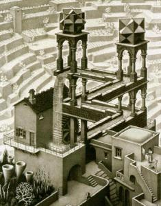 Waterfall - Escher