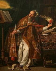 Saint Augustin, par Philippe de Champagne []