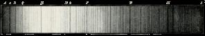 Raies de Fraunhofer dans le spectre du soleil []