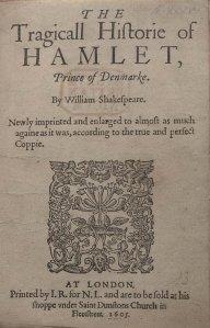 Shakespeare Quartos Project [B]