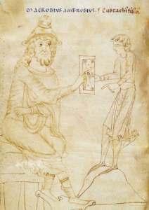 Macrobe et son fils Eusthatius
