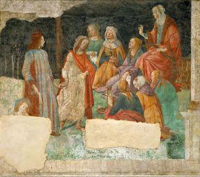 Venus présente un jeune homme aux 7 arts libéraux, Sandro_Botticelli_028