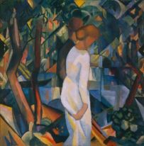 3b-16-August-Macke_Paar-in-Wald