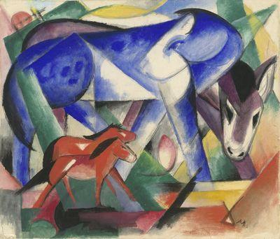 3b-18-Franz-Marc_The-First-Animals