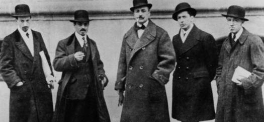 les fondateurs du futurisme