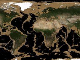L'eau des océans s'évapore